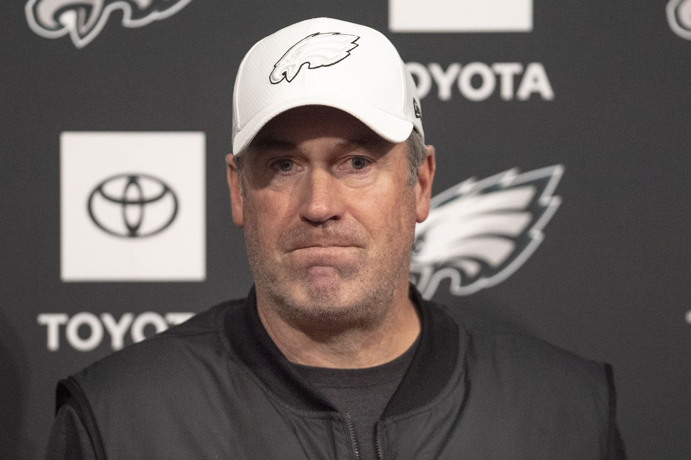 Eagles coach Doug Pederson's press conference, noon | Live video