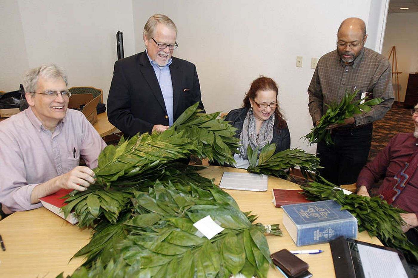 Palm Sunday goes eco-friendly