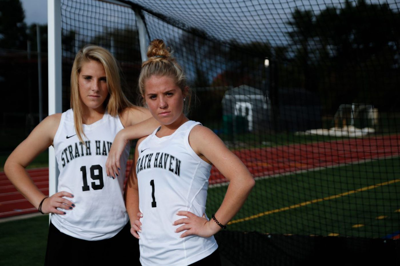 Raech sisters play big role in Strath Haven field hockey