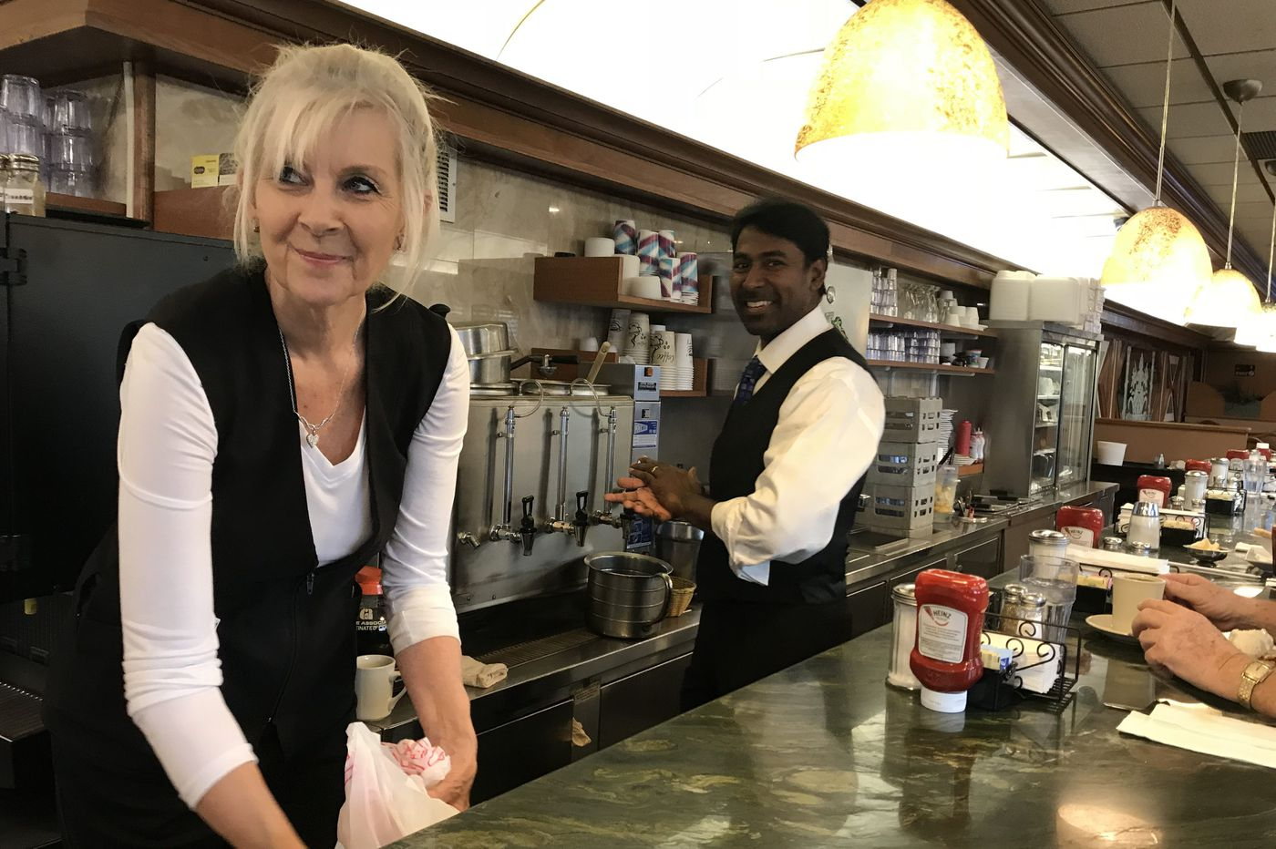 Diners don't lie: At bellwether Bucks eateries, the talk is Trump – and it's happy chatter ahead of midterm elections | Maria Panaritis