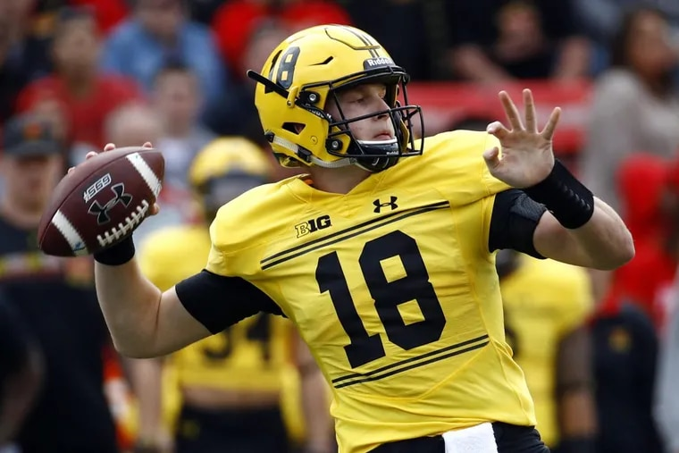 Max Bortenschlager likely will start at quarterback for the Terrapins.