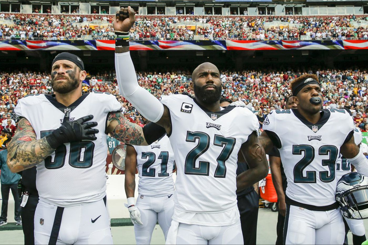 I nearly quit watching the NFL. The humanity of Malcolm Jenkins and Chris Long brought me back | Will Bunch