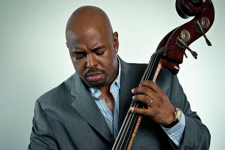 Bass player Christian McBride.