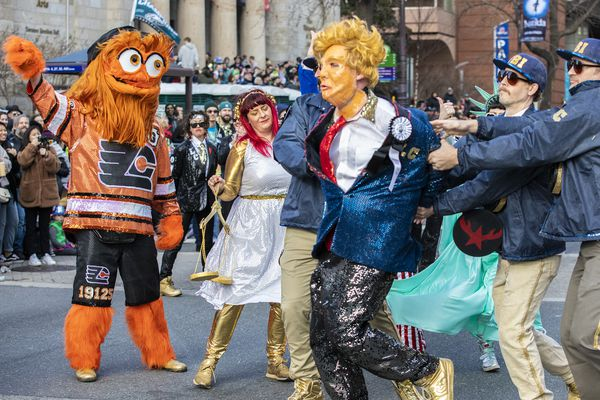 The 2019 Mummers in Pictures