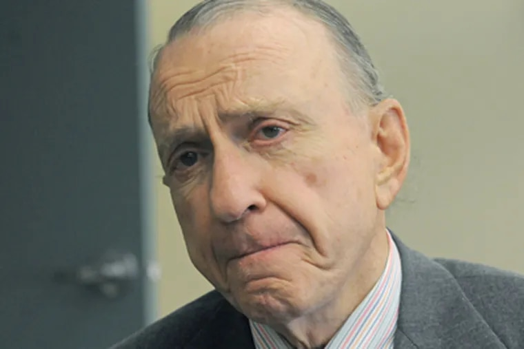 Arlen Specter was Pennsylvania's longest-serving U.S. senator. Specter passed away at 11:39 a.m. Sunday from complications of non-Hodgkins Lymphoma. (April Saul / Staff Photographer)