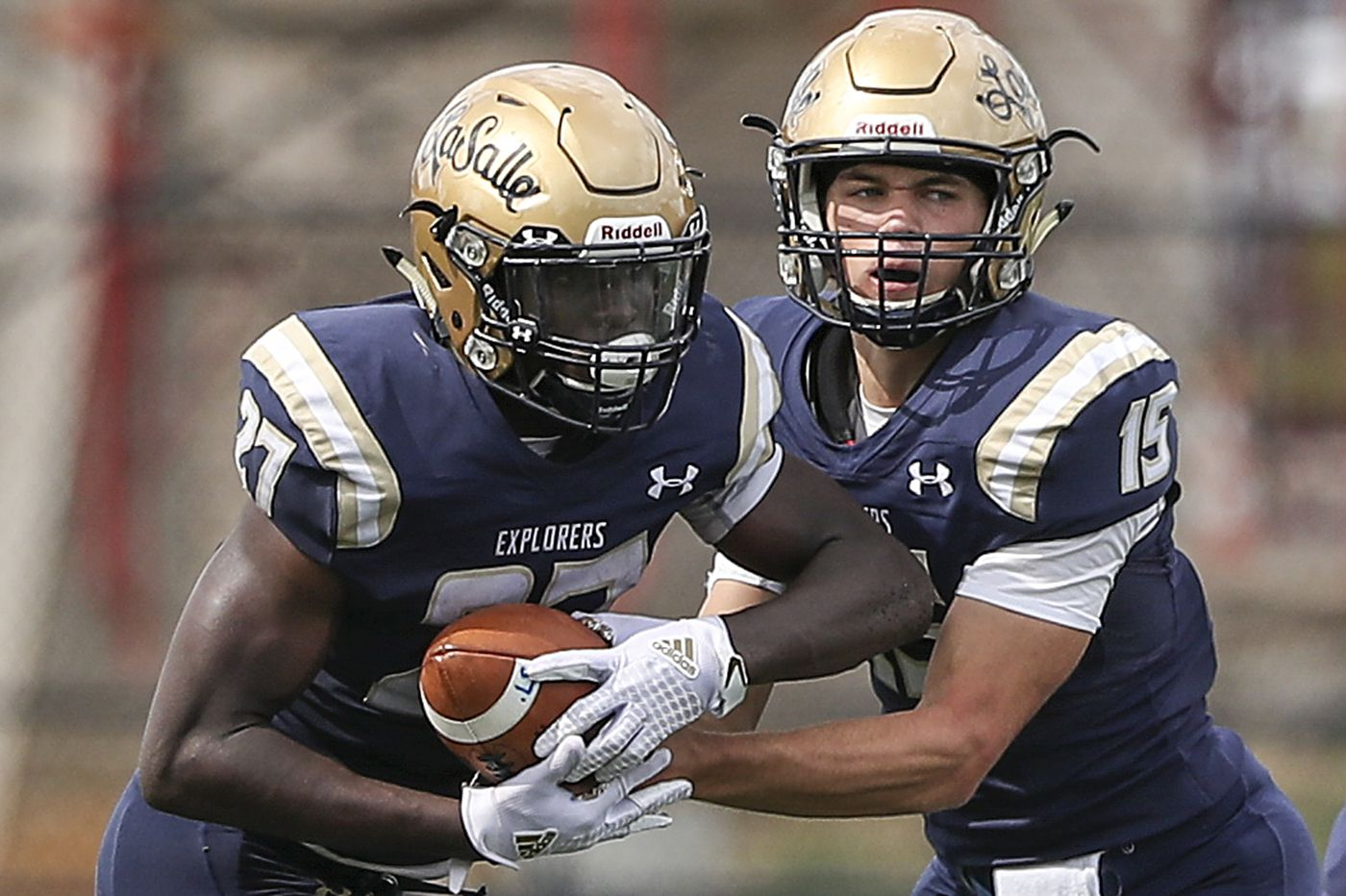 Saturday's Southeastern Pa. roundup: Sam Brown leads La Salle past Father Judge, 49-7