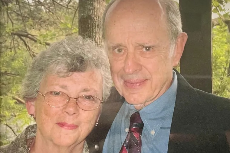 Walter and Fran Fox were married for 63 years.