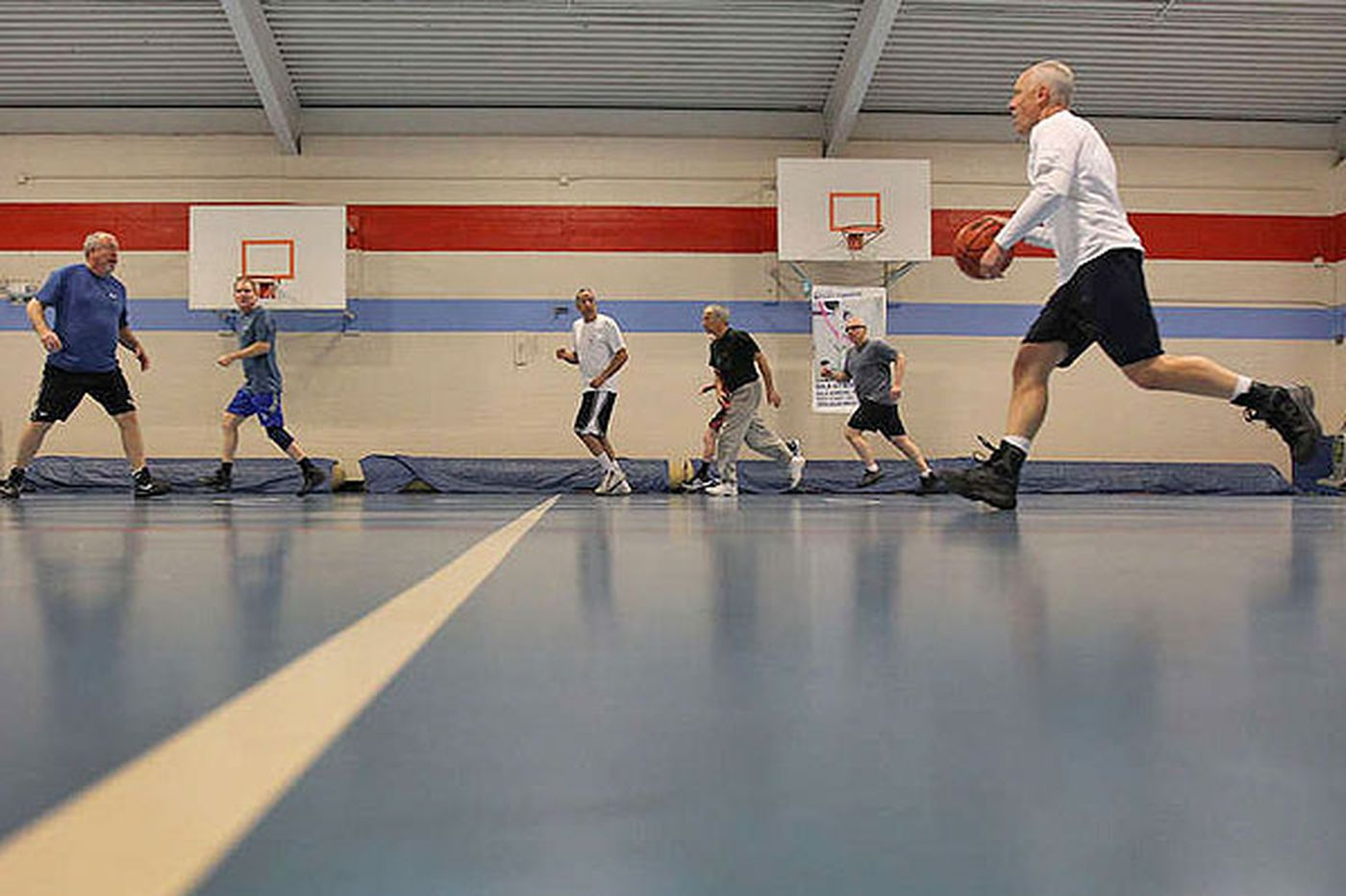 Well Being: Basketball puts a bounce in their steps