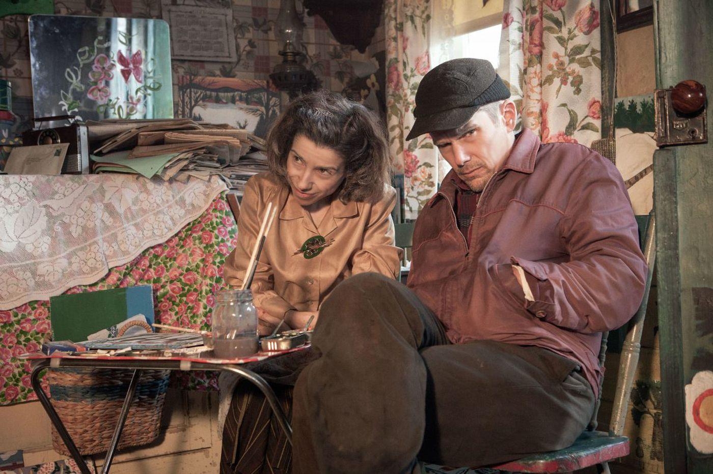 Art initiates life: Moving 'Maudie' tells painter Maud Lewis' inspiring story