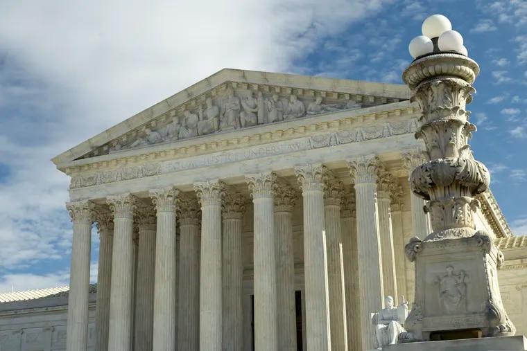 The U.S. Supreme Court building in Washington, D.C.