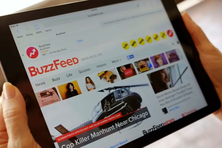 Buzzfeed announced Tuesday that it has laid off 45 reporters, editors and producers from the newly acquired HuffPost.