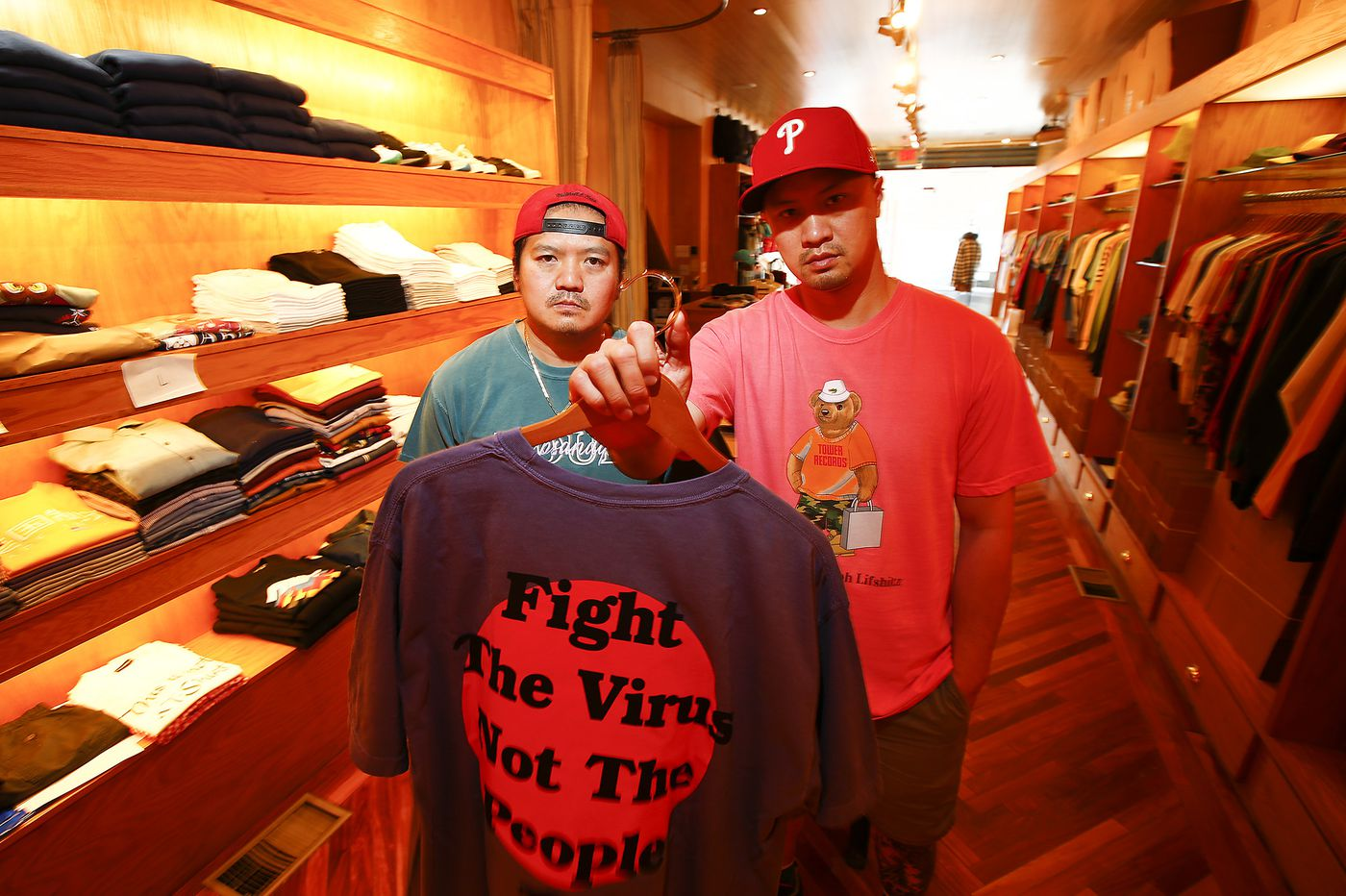 'We had to speak up' these Philly streetwear pioneers say of their Fight The Virus Not The People project | We The People