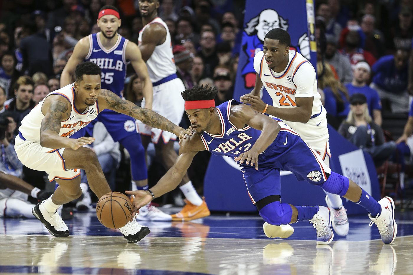 The Sixers need Jimmy Butler to stop holding back on the court