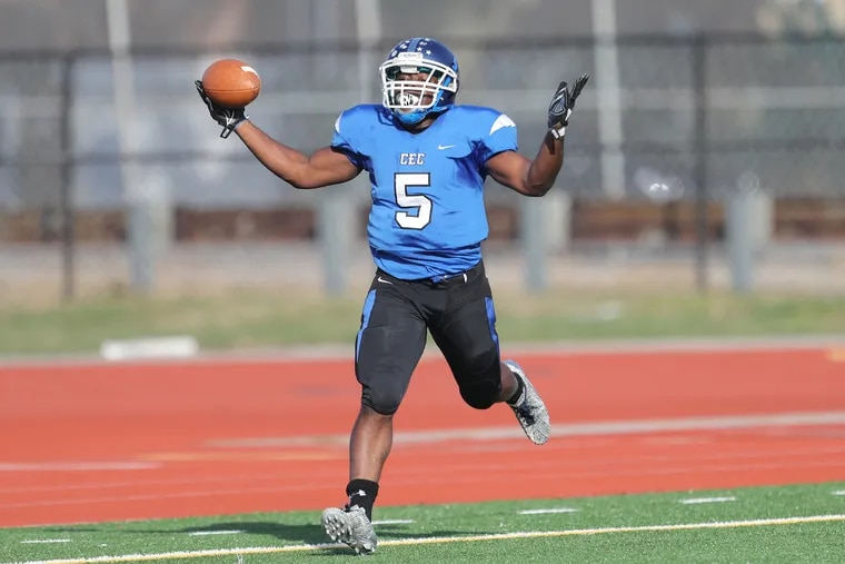 Patrick Garwo led Conwell-Egan's offense with 78 yards and a late score on 20 hard-earned carries.