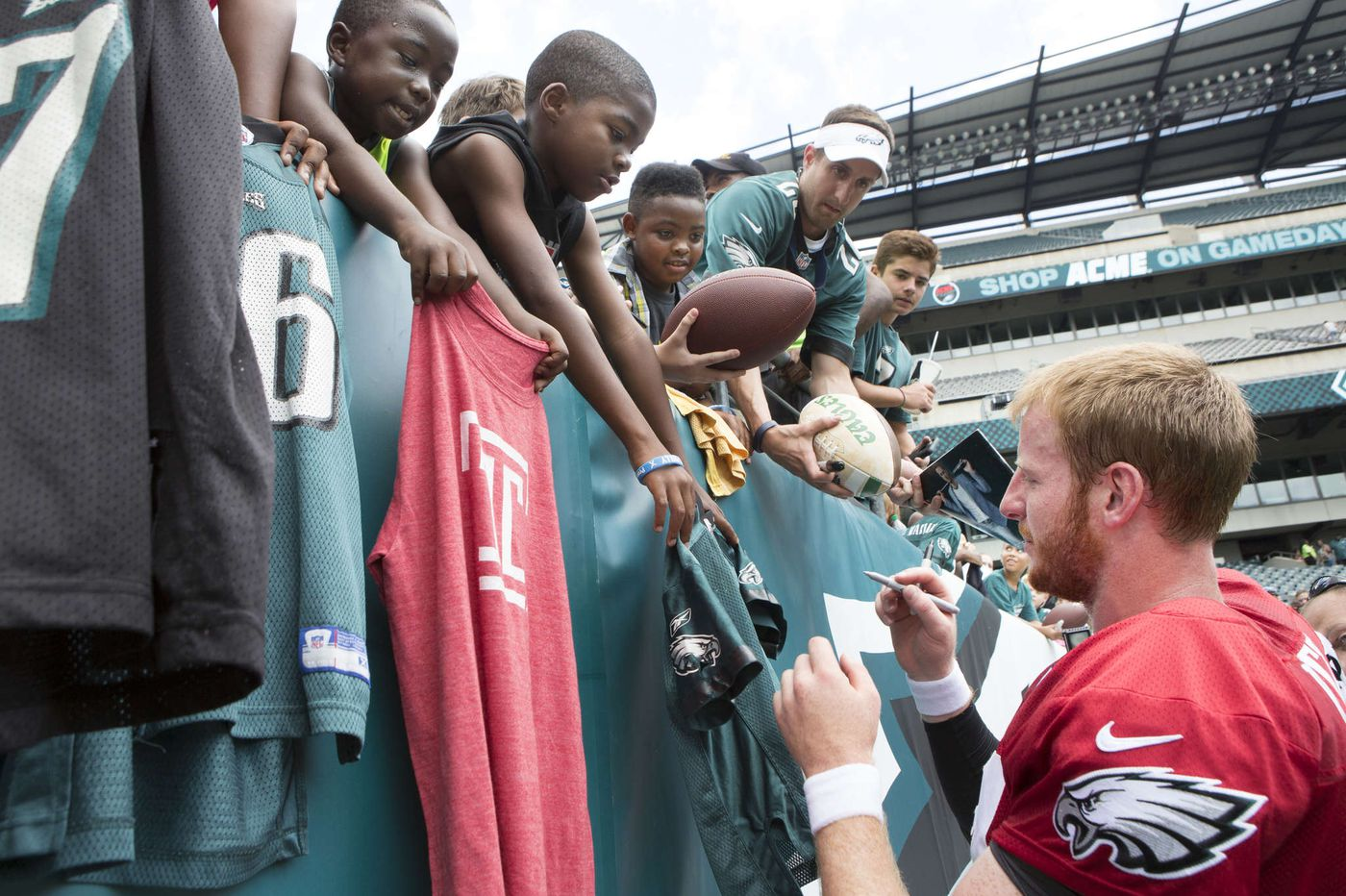 Eagles' decision on open practice draws mixed reaction from fans, sports talkers