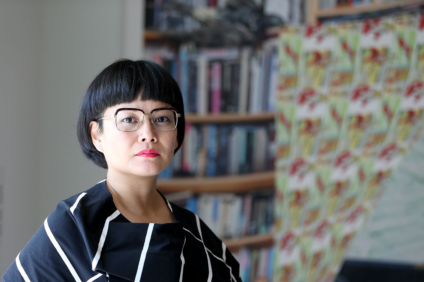 From publishing gay manga to running the asian arts initiative anne ishii does it all