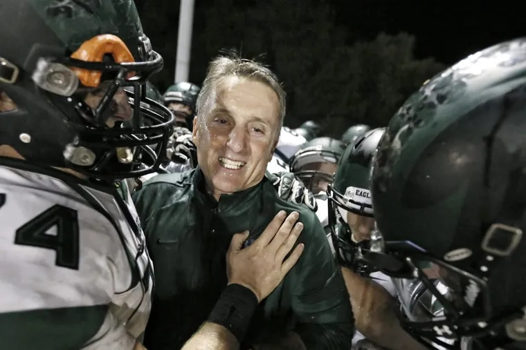 Coach Clyde Folsom's teams were 227-60-2 in 27 seasons at West Deptford.