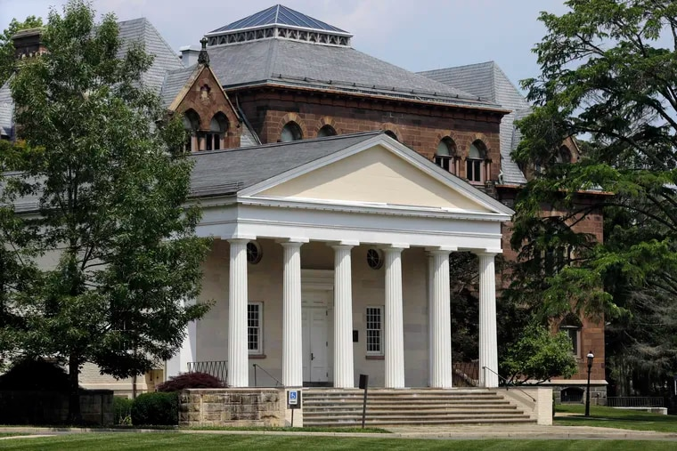 Princeton Theological Seminary in Princeton, N.J., will set aside about $28 million to provide 30 scholarships for students who descended from slaves or underrepresented groups. (AP Photo/Mel Evans, File)