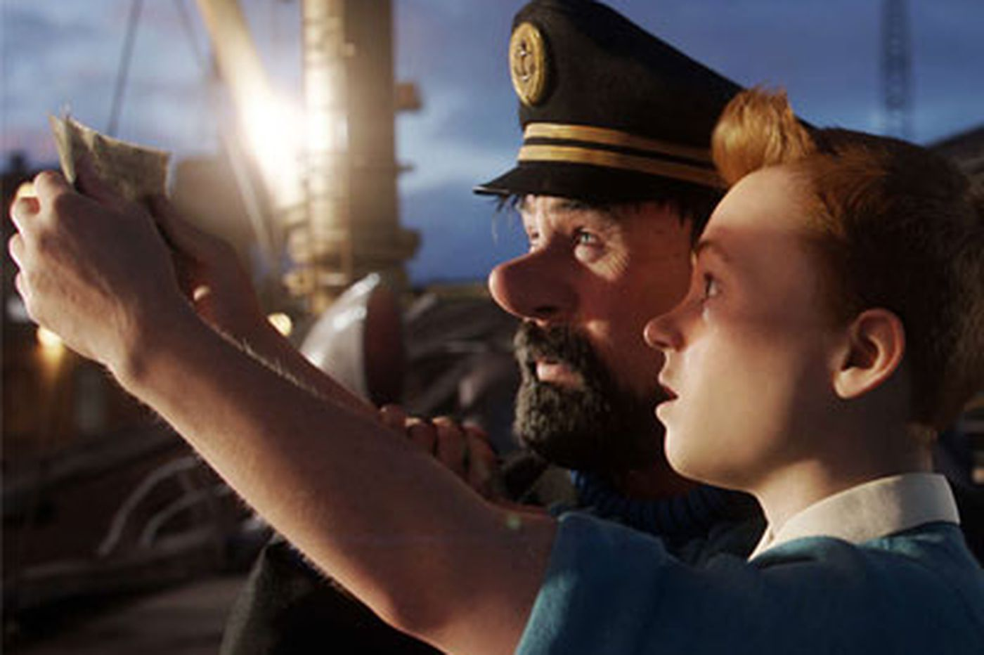 Adventures of Tintin: Extravagant, eye-popping, emotionally shallow