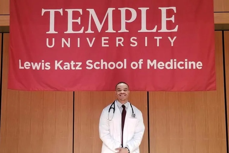 At Temple, this year's entering med school class has, out of 200 students, one male African American: Sean Brown, 24, from Burlington Township, N.J. (There are 17 black women.)