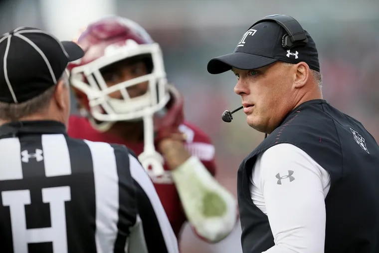 Geoff Collins was 15-10 in his two seasons at Temple. He is a Georgia native, and is now going home.