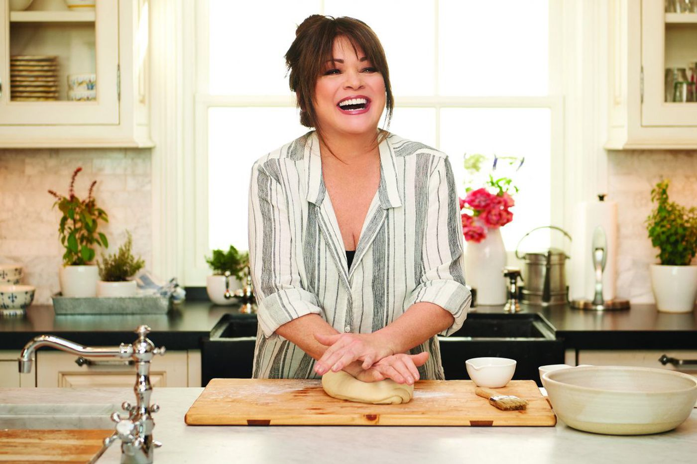 Valerie Bertinelli, once a teen TV sweetheart, cooking up something new at 57