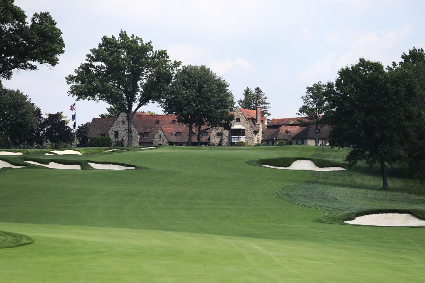 Aronimink, hosting the BMW Championship, is ready for its close-up