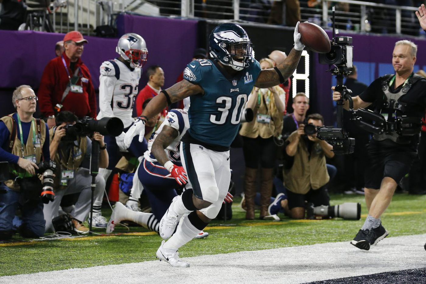 Eagles' Corey Clement part of Super Bowl history now | Mike Jensen