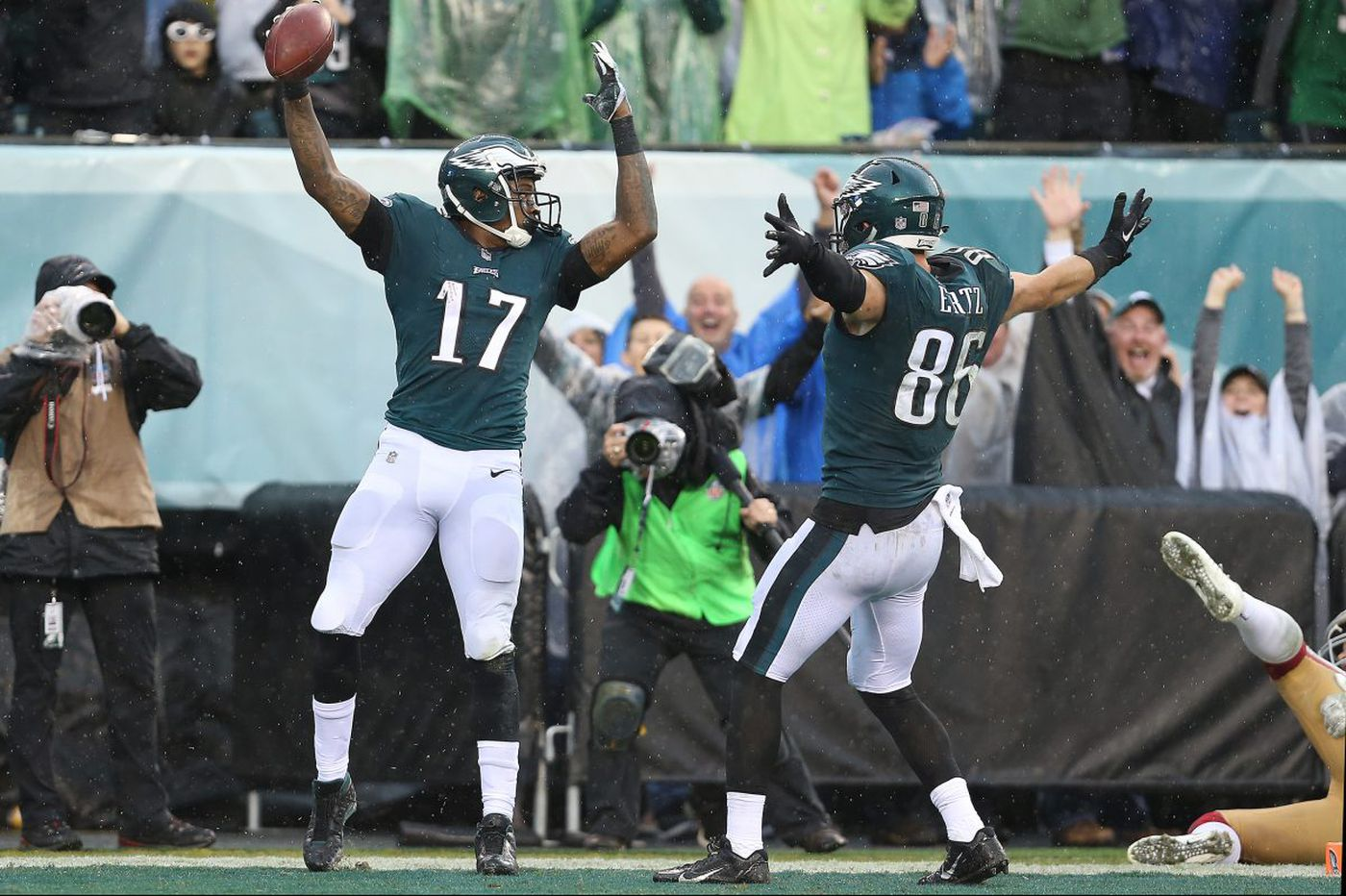 Why did Alshon Jeffery sign with the Eagles? Sunday says it all | Mike Sielski