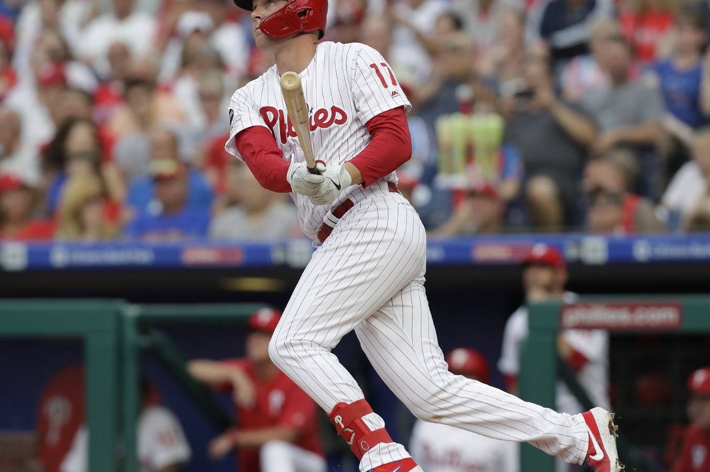 The Phillies' season is slipping away but Rhys Hoskins is an anchor | Marcus Hayes