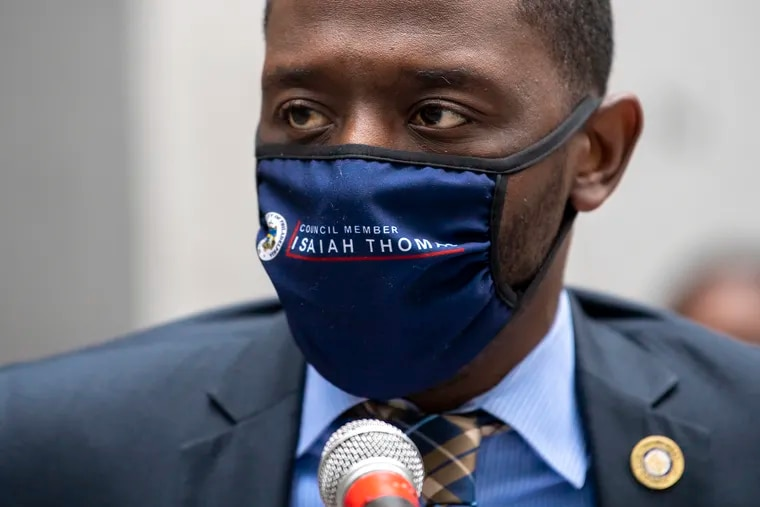 Councilmember Isaiah Thomas has introduced a bill restricting the ability of police officers to stop motorists for vehicle code violations — a practice that disproportionately affects Black drivers.