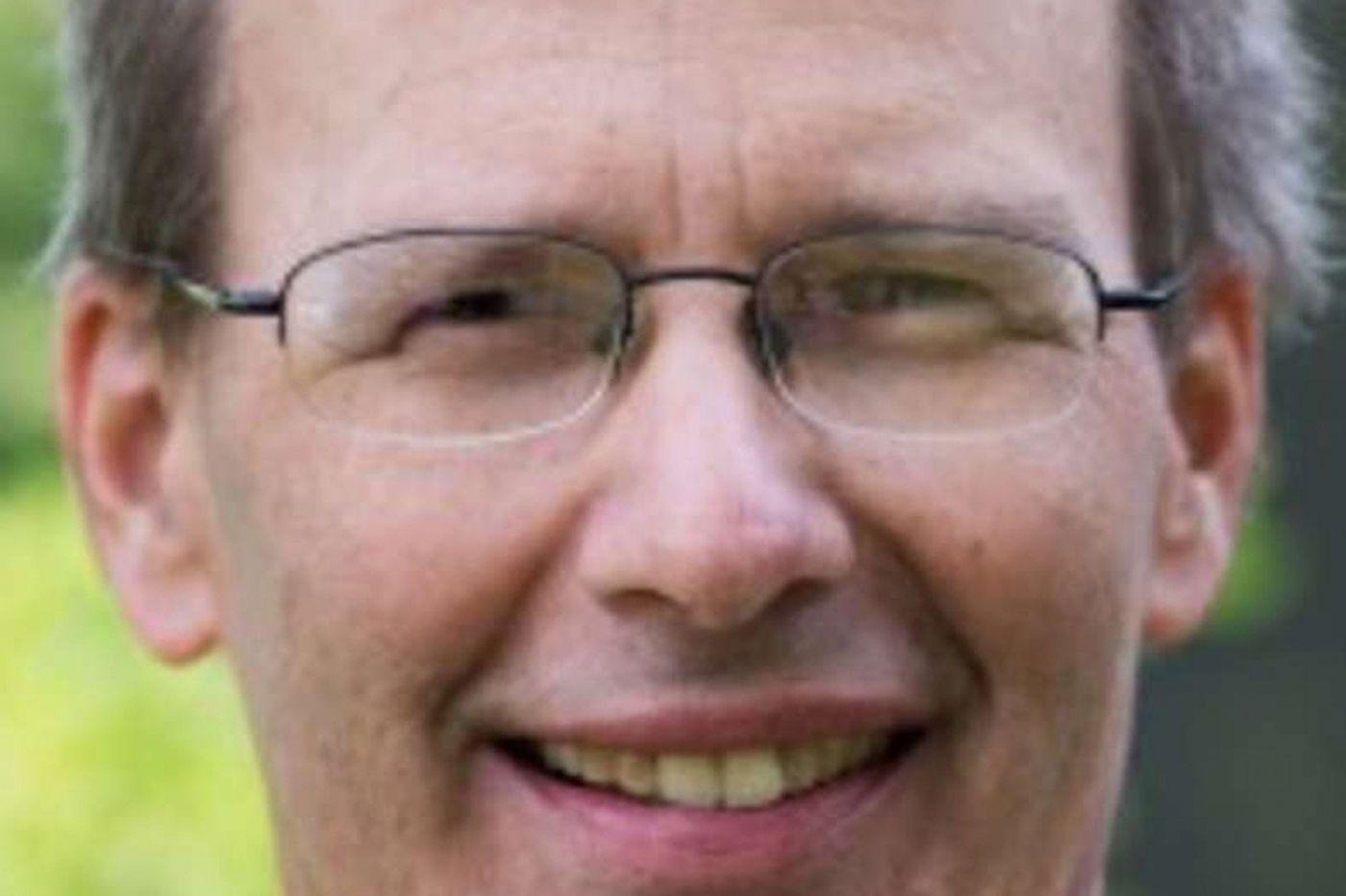 Richard Colbert, 58, head of Tyler Arboretum