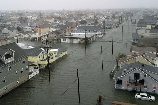 Record tides, 2 feet of flooding at Shore