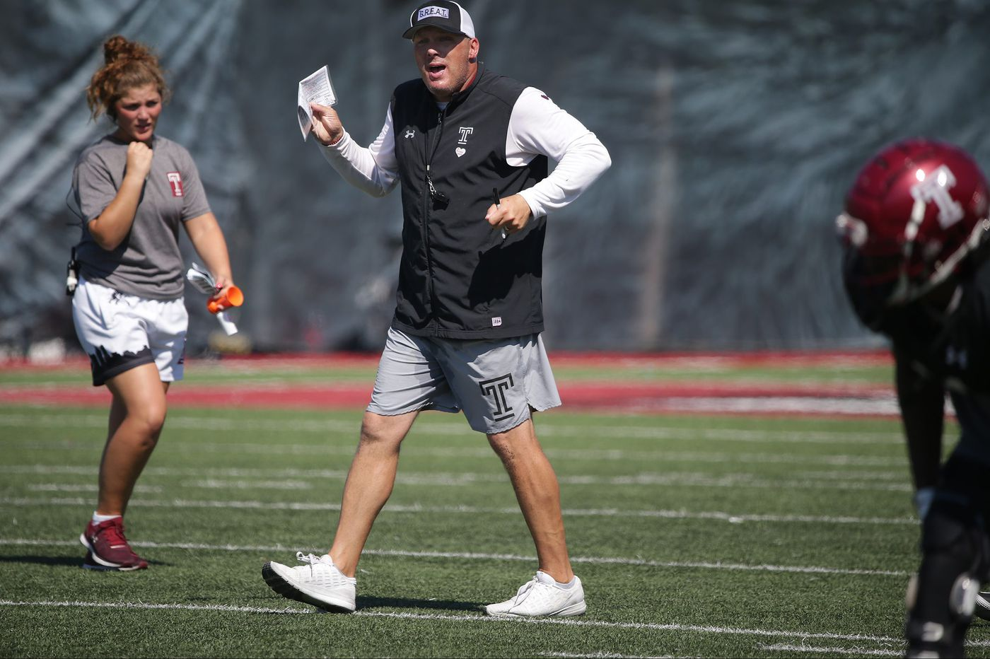 What Temple coach Geoff Collins is saying ahead of Saturday's game vs. Buffalo