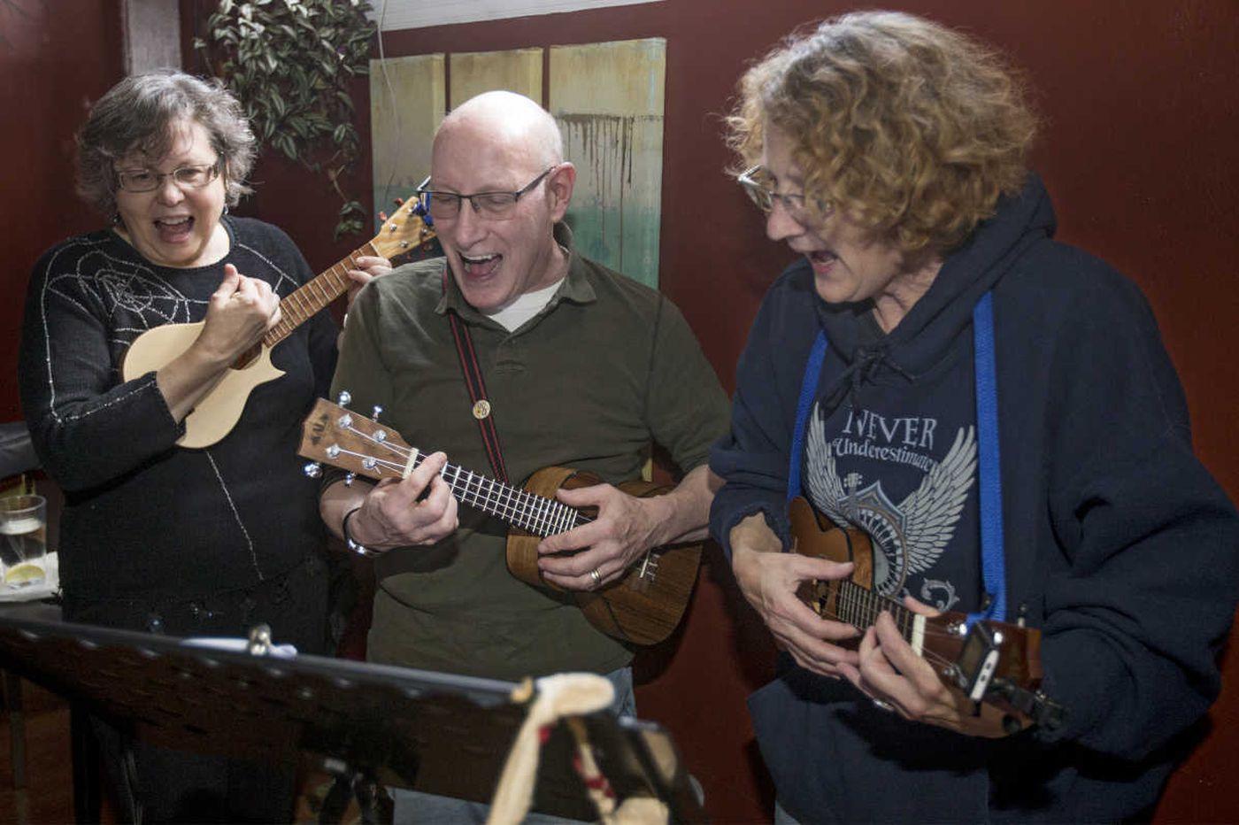 Four strings, two chords, region's ukulele group breaks it down