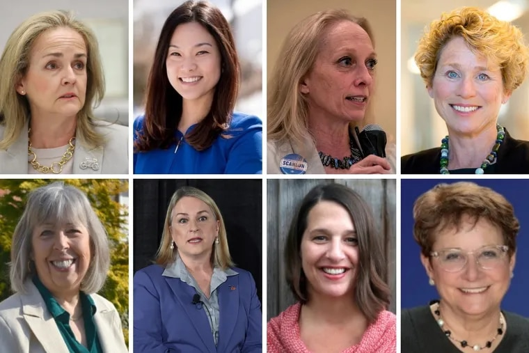 Women running for office in Pa.