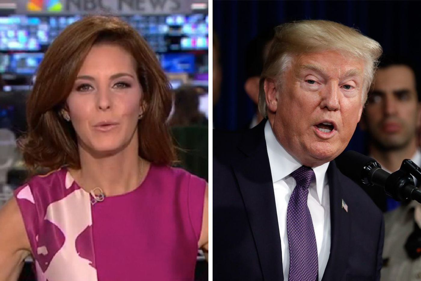 Trump continues attack on 'moron' report, but NBC reporters are fighting back