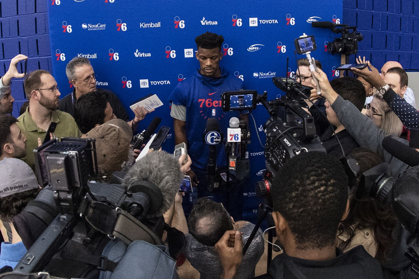 Jimmy Butler: Sixers 'are going into the game thinking we can win' on Monday vs. Nets