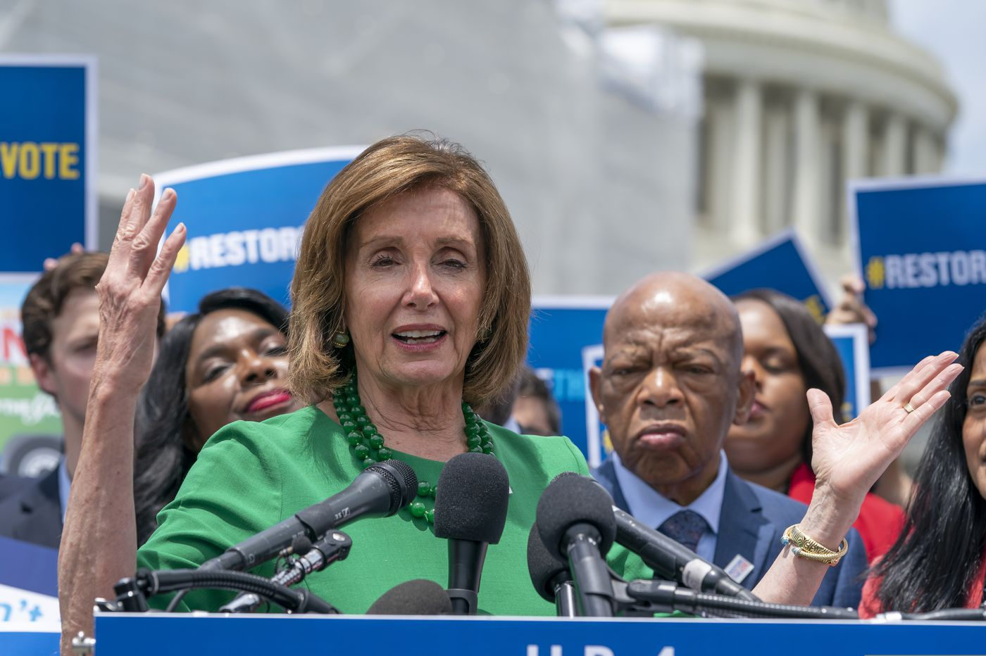 House Democrats told they're too focused on impeachment