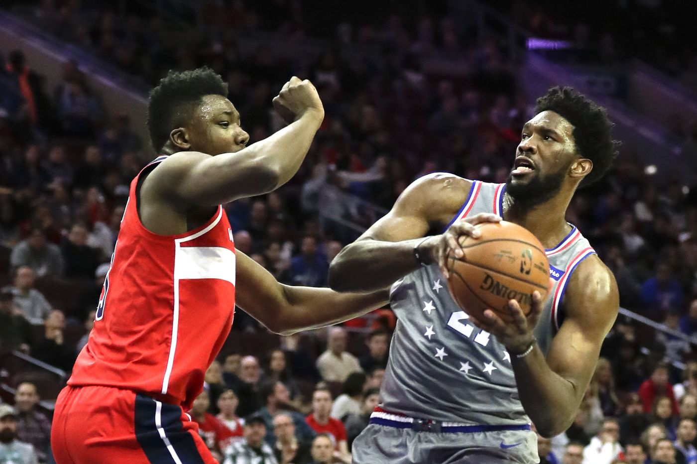 Joel Embiid says his new role after 76ers' trade for Jimmy Butler is upsetting his game
