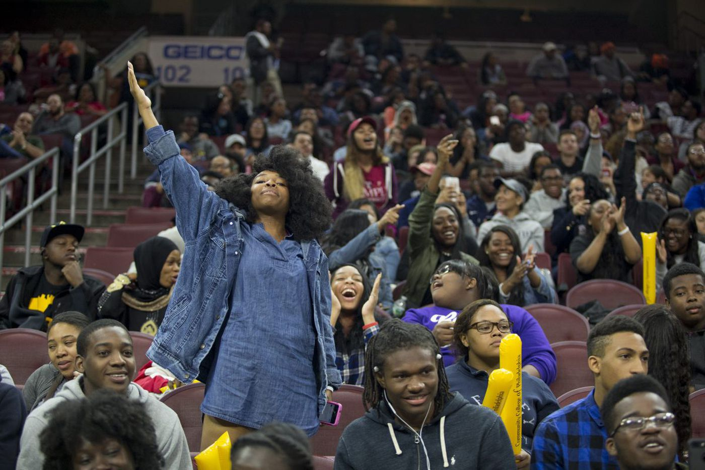 High school seniors celebrate College Signing Day
