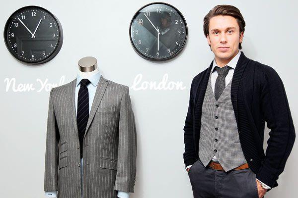 Mirror, Mirror: A bit of big time for Delco's genuine British tailor