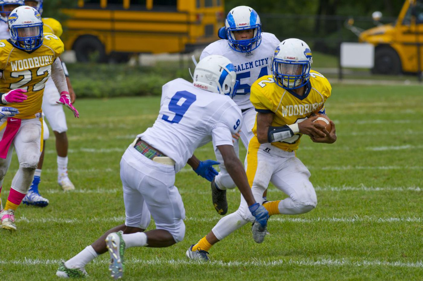 Saturday's South Jersey roundup: Kaciir Street does it all in Salem's 41-0 football win over Schalick
