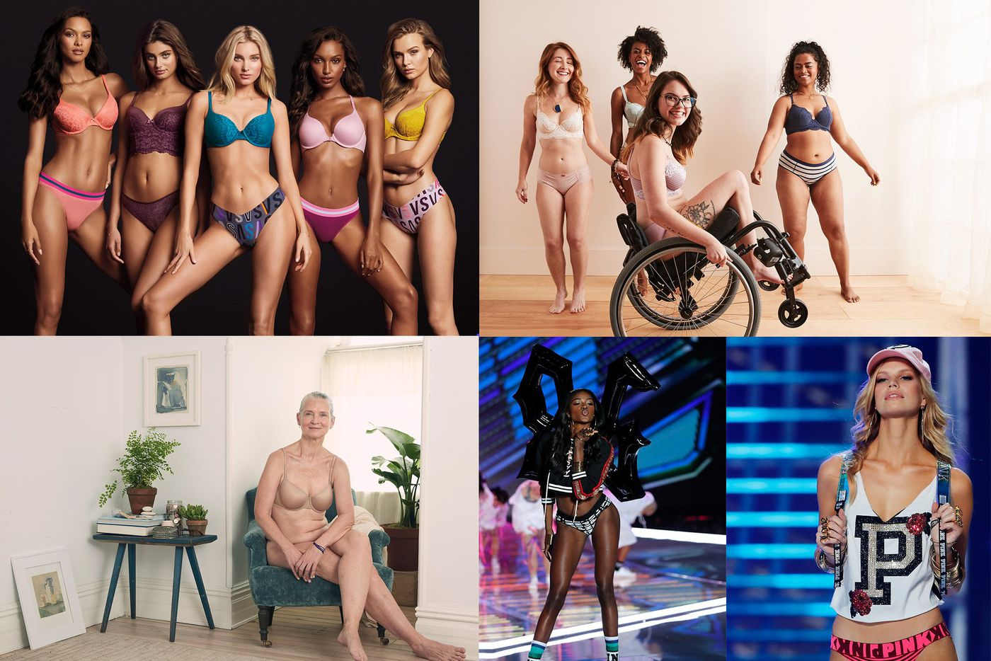 Lingerie leader Victoria's Secret has new competition: Brands embracing body positivity