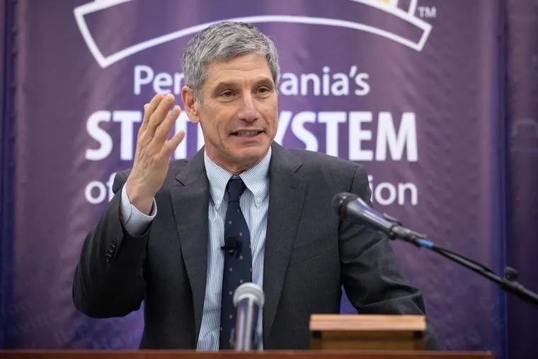 PASSHE Chancellor Daniel Greenstein.
