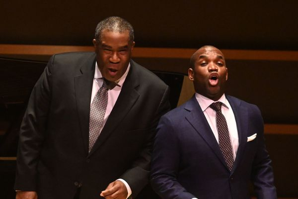 Opera superstars Eric Owens and Lawrence Brownlee are a knockout in rare duo recital