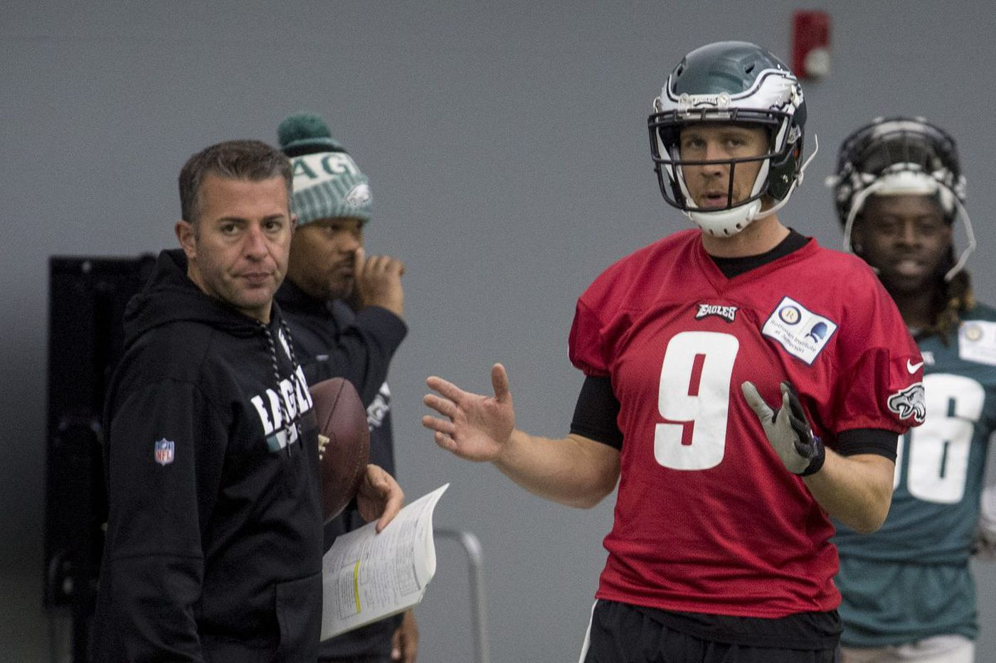 Eagles QB coach John DeFilippo gets head coaching interest from Bears, Cardinals