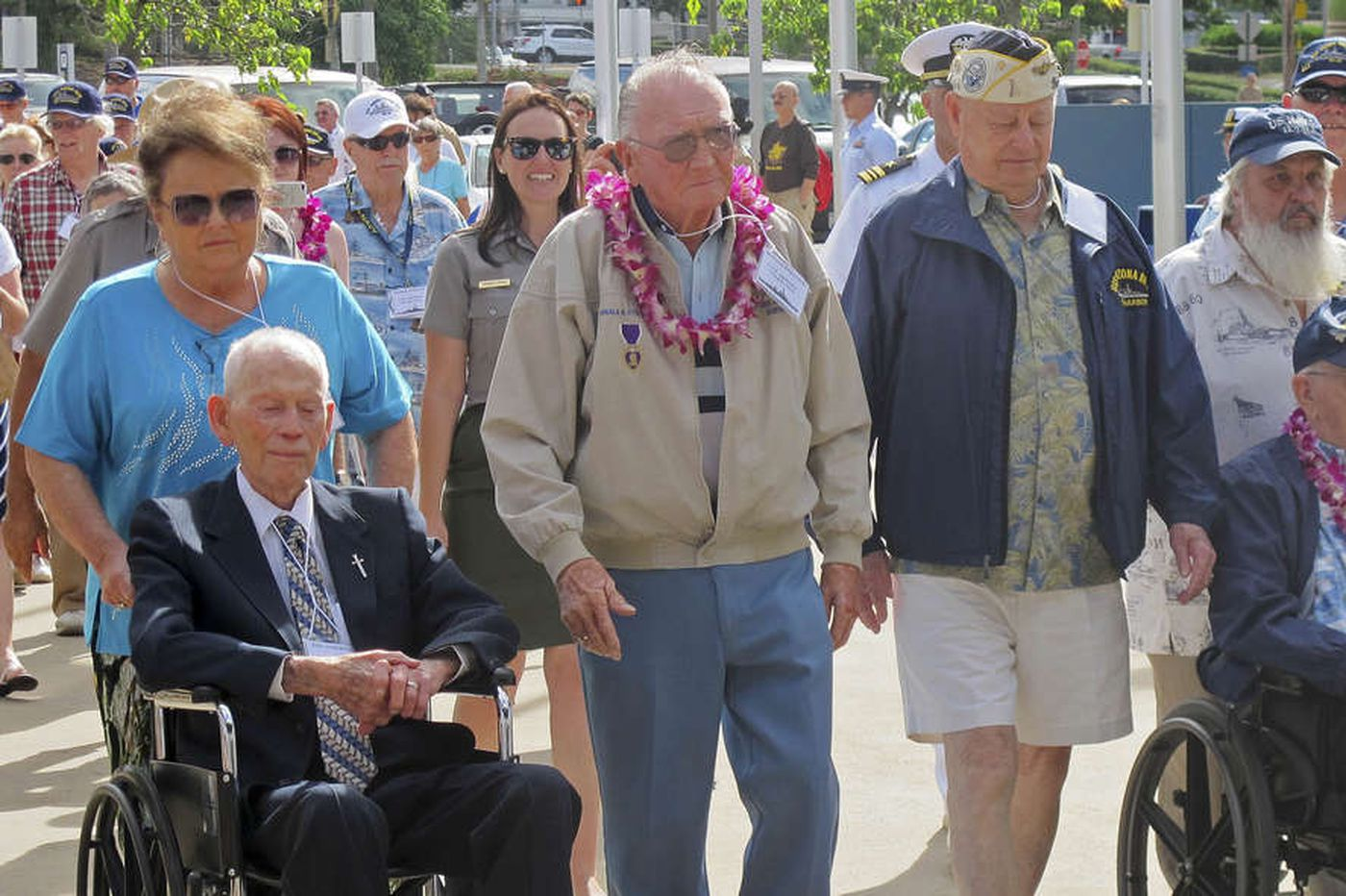 Pearl Harbor, 73 years later