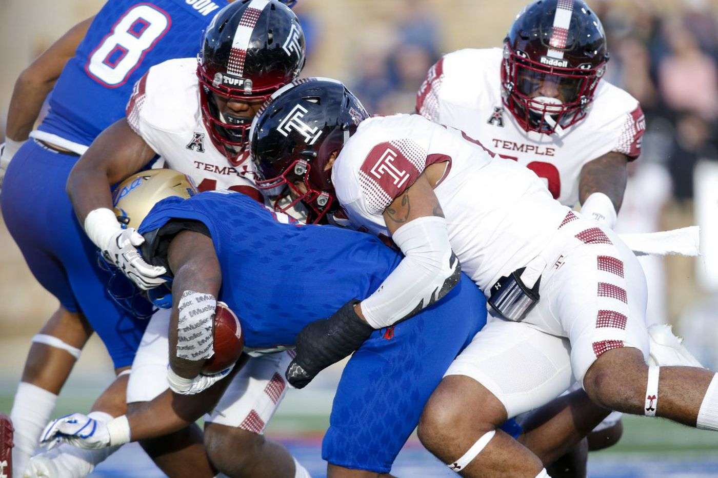 Temple is bowl eligible after win over Tulsa