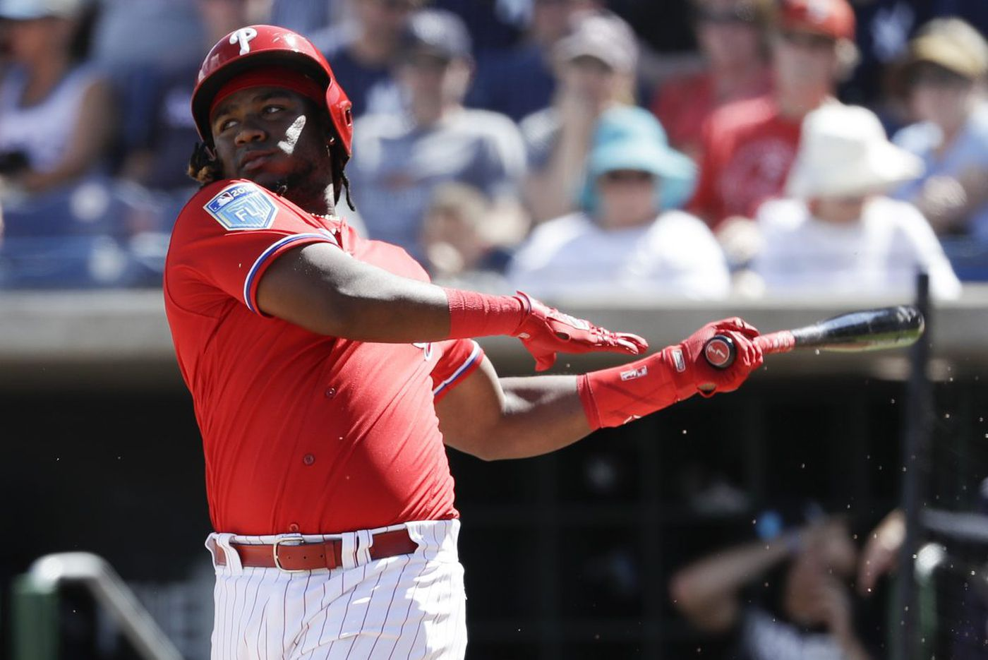 The Phillies have altered Maikel Franco's batting stance